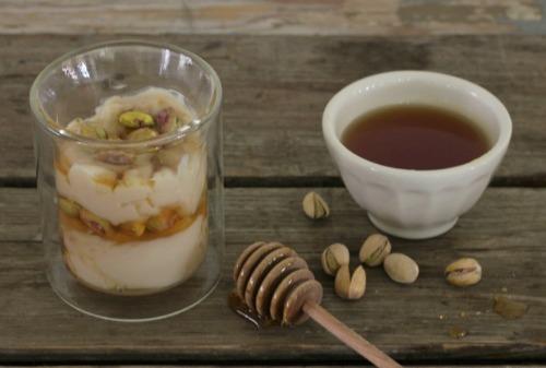 Gluten-Free Pistachio Yogurt Parfait In Johnna's Kitchen