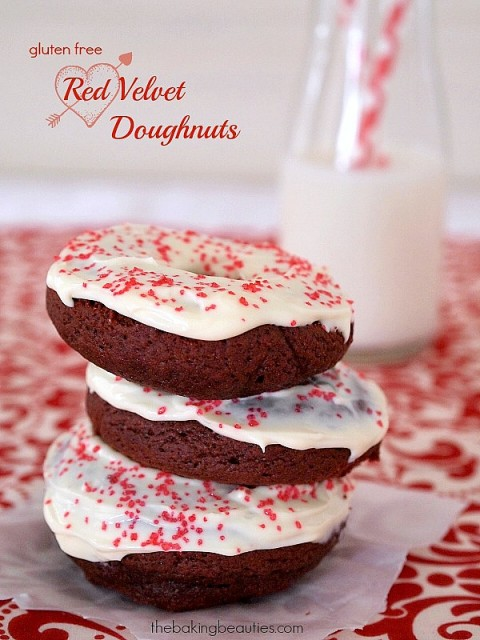 Gluten-Free Red Velvet Doughnuts The Baking Beauties