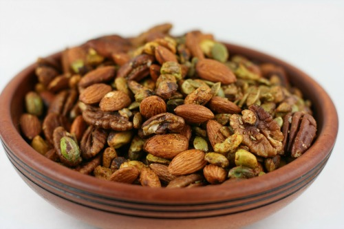 Gluten-Free Roasted and Spiced Nuts A Year of Slow Cooking