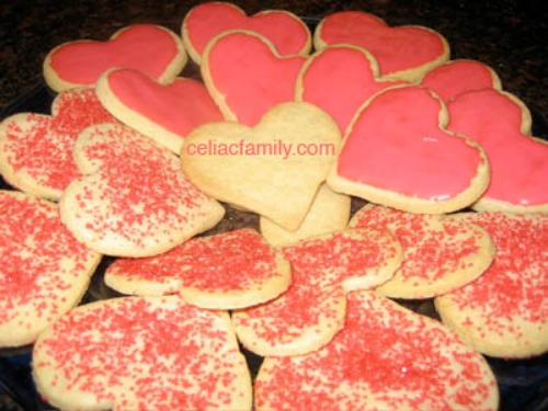 Gluten-Free Sugar Cookies Celiac Family