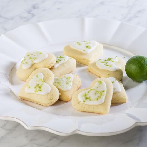 Gluten-Free Valentine Key Lime Cookies Gluten-Free Canteen