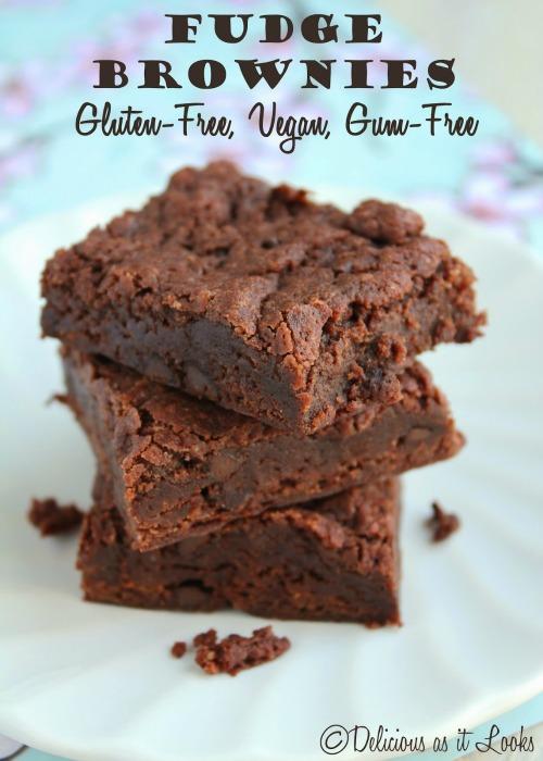 Gluten Free Vegan Fudge Brownies Delicious As It Looks
