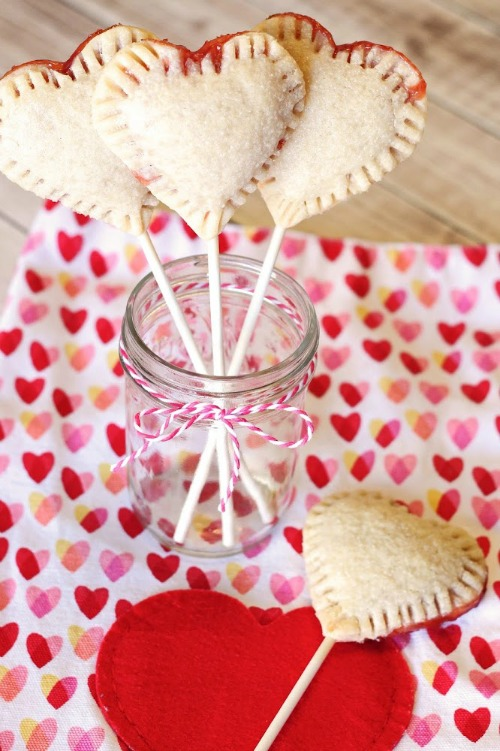 Gluten Free Vegan Heart Pie Pops Sarah Bakes Gluten-Free Treats