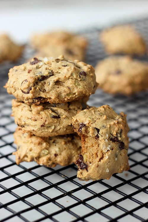 Grain-Free Pistachio Chocolate Chip Cookies Tasty Yummies Gluten Free