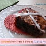 Salted Caramel Shortbread Brownies