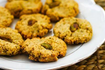 Pistachio Cookies Kalyn's Kitchen Gluten Free Grain Free Sugar Free