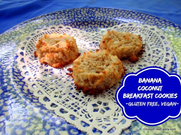 Gluten-Free Banana Coconut Breakfast Cookies Gluten Free Easily