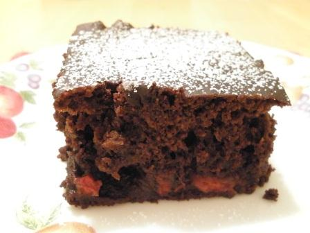 Gluten-Free Dairy-Free Cherry Chocolate Cake from The Gluten-Free Homemaker