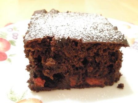 Gluten-Free Dairy-Free Cherry Chocolate Cake from The Gluten-Free Homemaker