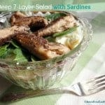 """Dig Deep"" 7-Layer Salad with Sardines"