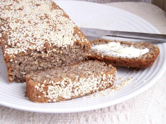 Gluten-Free Almond Flax Bread Skinny GF Chef
