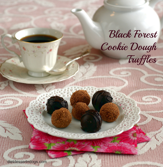 Gluten-Free Black Forest Cookie Dough Truffles Ricki Heller