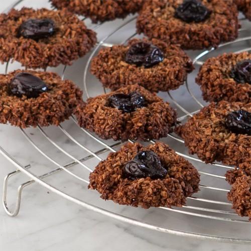 Gluten-Free Chocolate Cherry Macaroons Gluten Free Canteen