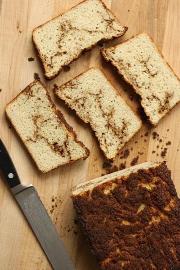 Gluten-Free Cinnamon Swirl Bread from No Gluten No Problem