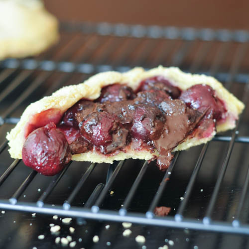 Gluten-Free Vegan Dark Chocolate Cherry Galette Spabettie