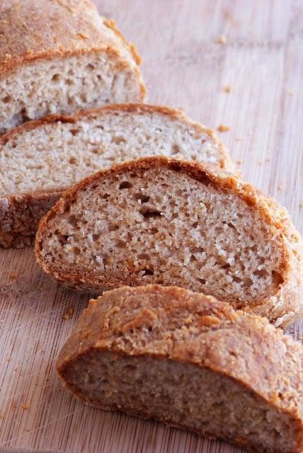 Five-Ingredient Easy French Bread (Gluten-Free, Vegan)