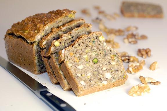 Gluten-Free Grain-Free Nutty Bread Elana's Pantry