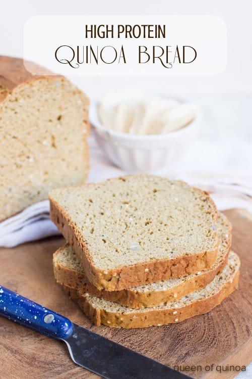Gluten-Free High Protein Quinoa Bread Simply Quinoa