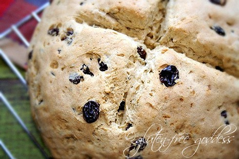 Gluten-Free Irish Soda Bread Gluten-Free Goddess