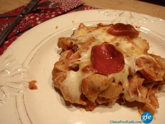 Gluten-Free Italian Casserole Serving Gluten Free Easily