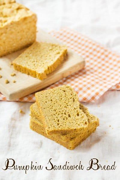 Gluten-Free Pumpkin Sandwich Bread Simply Quinoa