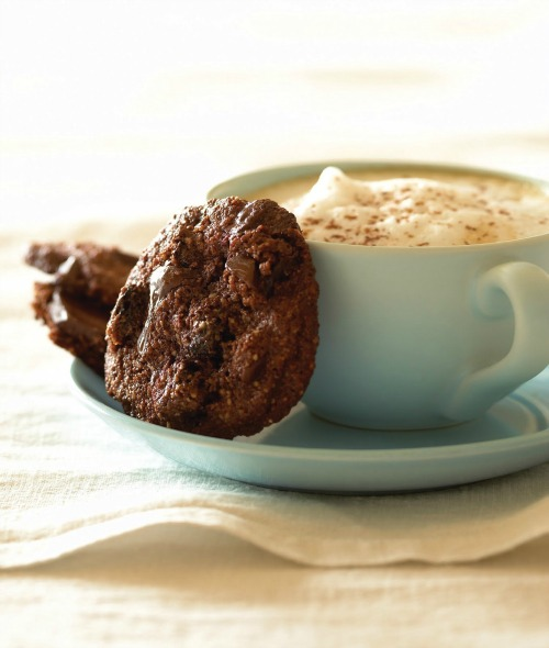 Gluten-Free Vegan Double Chocolate Cherry Cookies Elana's Pantry