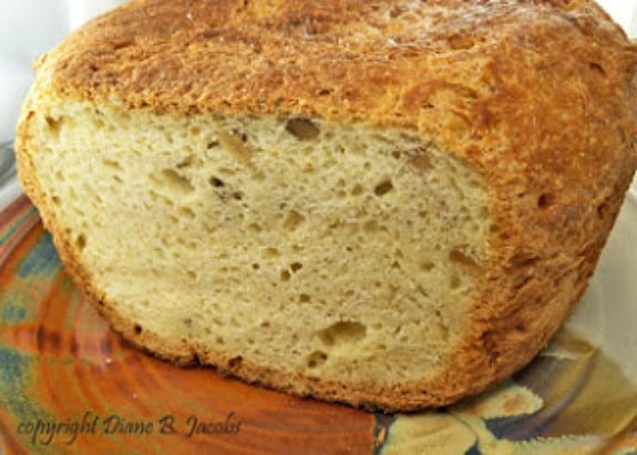 Gluten-Free Walnut-Rosemary Herb Bread Gluten-Free Foodie Heaven