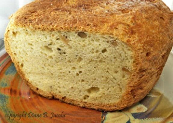 Gluten-Free Walnut-Rosemary Herb Bread Gluten-Free Foodie Heaven
