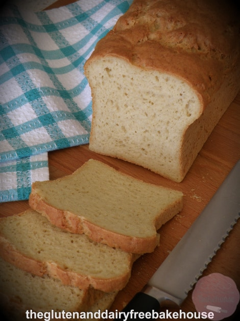 Gluten-Free White Bread The Gluten and Dairy Free Bakehouse
