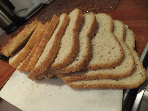 Gluten-Free White Flax Seed Loaf Free From Fairy