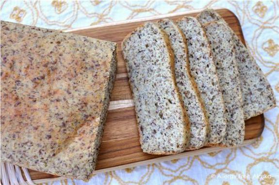 Grain-Free High-Protein and Fiber Bread Allergy-Free Alaska