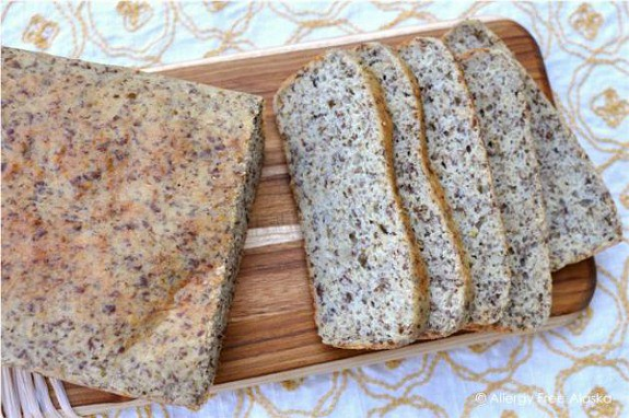 Grain-Free High-Protein and Fiber Bread Allergy-Free Alaska