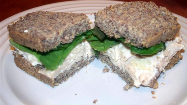 Low Carb Flaxseed Sandwich Bread Hannah's Healthy Heaven