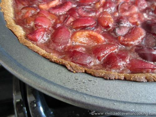 Gluten-Free Paleo Chocolate Cherry Pie Civilized Caveman Cooking Creations