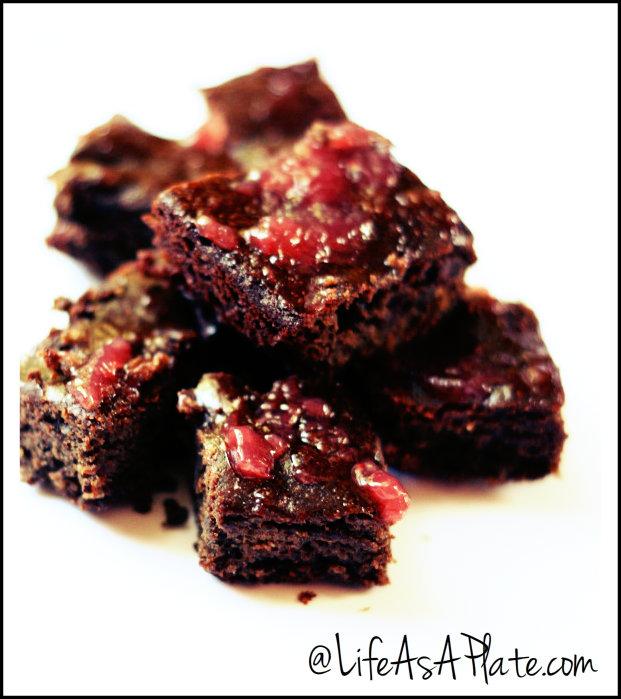 Paleo Dark Chocolate Chunk Cherry Espresso Brownies Life As a Plate