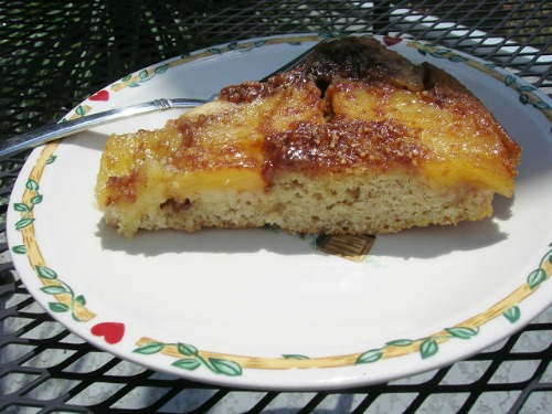 Gluten-Free Almond Masa Pineapple Upside Down Cake
