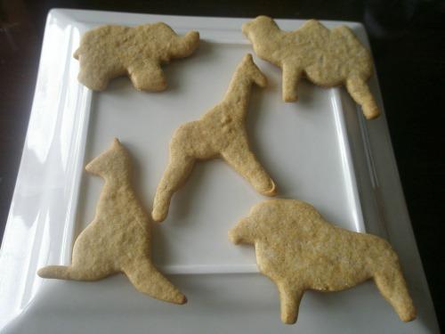 Gluten-Free Animal Crackers Recipe