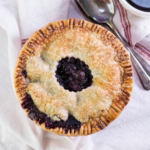 Gluten-Free Blueberry Apple Pie