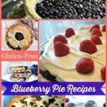 20 Gluten-Free Blueberry Pies that will make you so happy that blueberries are available year round now! If you can make a pie using blueberries you picked yourself, your blueberry pie will taste even sweeter!