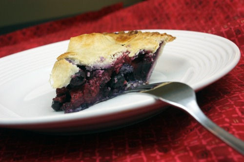 Gluten-Free Strawberry-Blueberry Pie