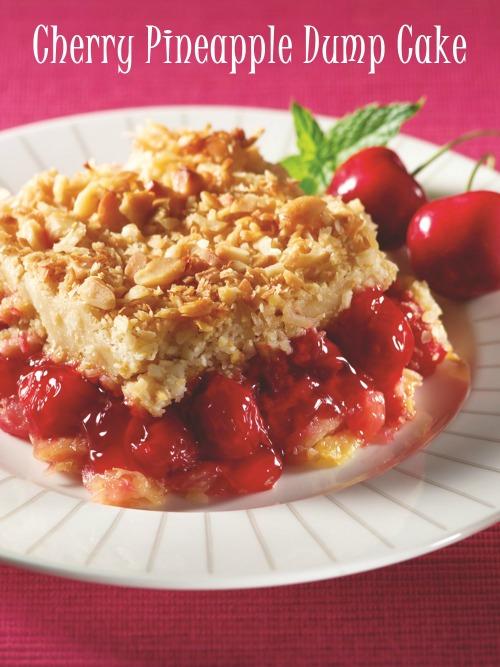 Gluten-Free Cherry Pineapple Dairy-Free Dump Cake