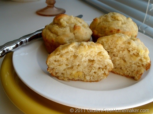 Gluten-Free Coconut Pineapple Muffins