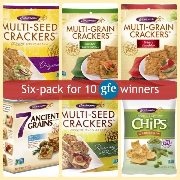 Gluten-Free Crunchmaster Crackers Chips GFE