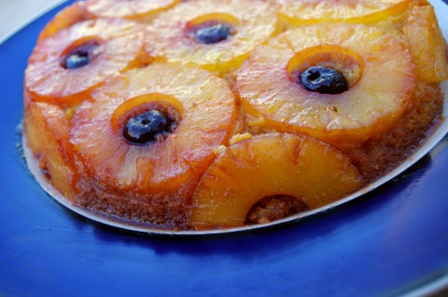 Gluten-Free Grain-Free Pineapple Upside Down Cake