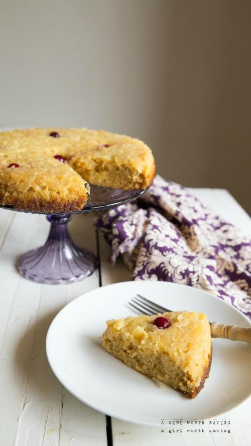 Gluten-Free Grain-Free Pineapple Upside Down Cake