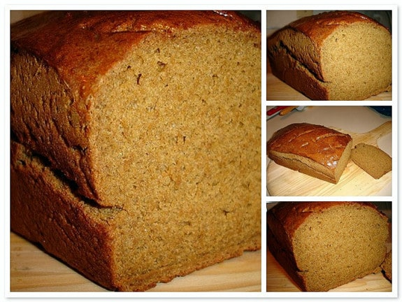 Gluten-Free Molasses Bread