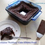 Molasses Pudding Cake Gluten Free Dairy Free Refined Sugar Free