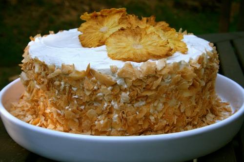 Gluten-Free Pina Colada Cake