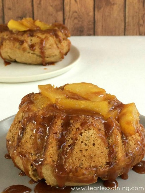 Gluten-Free Pineapple Upside Down Cakes