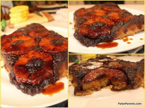 Gluten-Free Paleo Pineapple Upside Down Cake
